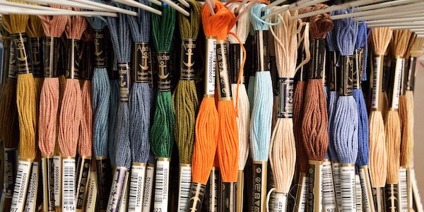 Stickgarn und Stickwolle
