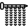 Maschenprobe - 10 x 10 cm